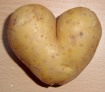 Potatoes got heart!